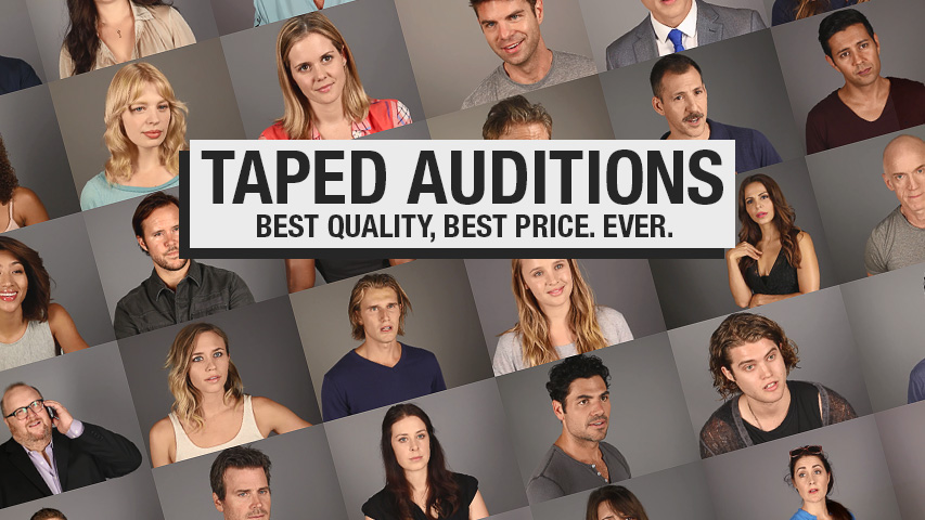taped audition clients